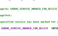 错误代码1072:ERROR_SERVICE_MARKED_FOR_DELETE的问题